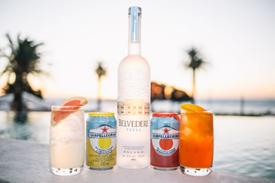 THE BAY HOTEL DELOITTE HONOURS EVENT WITH BELVEDERE AND SAN PELLEGRINO SPARKLING FRUIT BEVERAGES